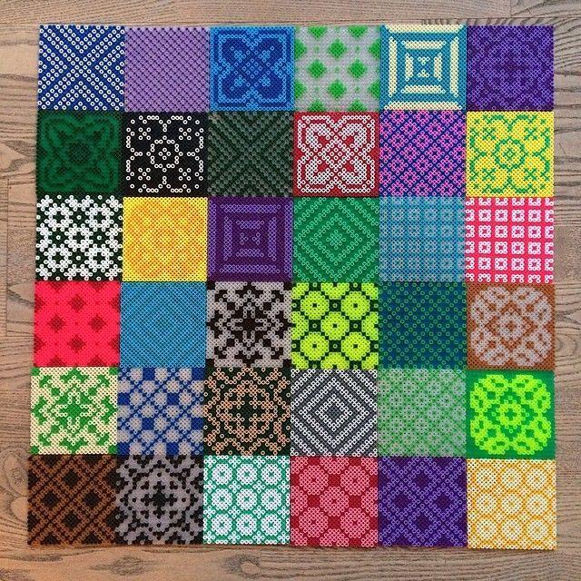 large perler bead designs google search perler beads. Black Bedroom Furniture Sets. Home Design Ideas