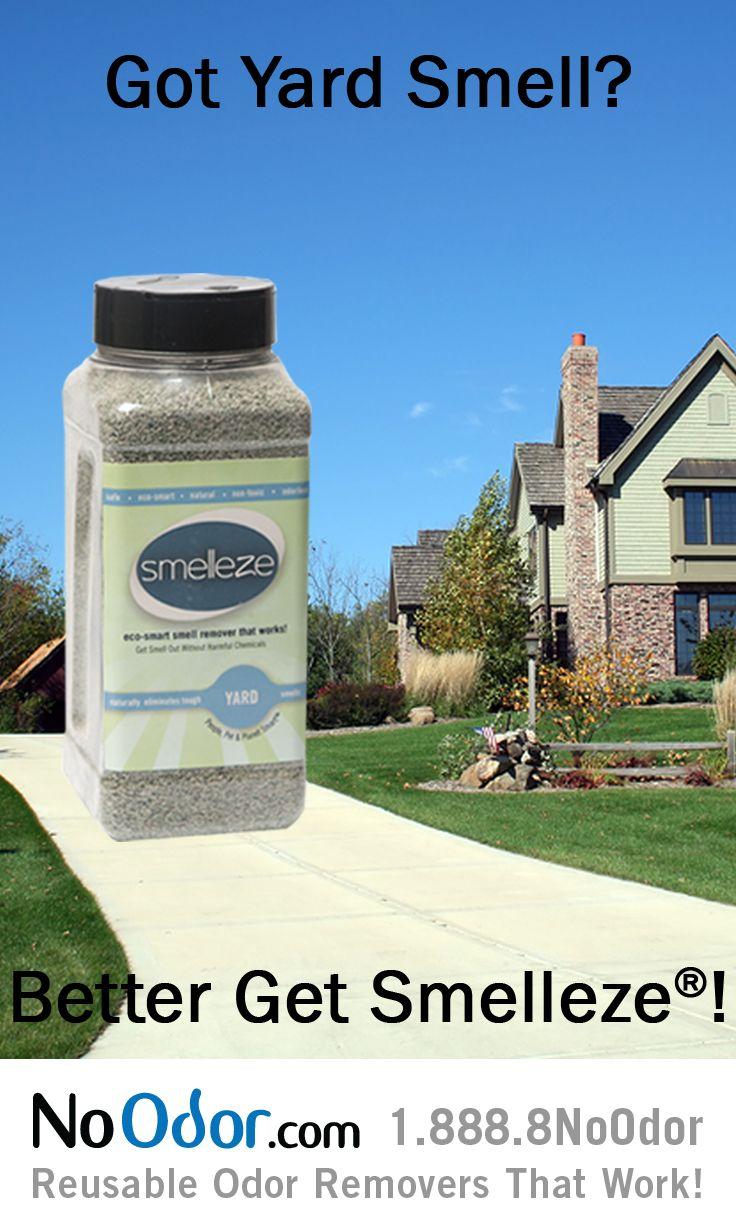 Smelleze Natural Yard Concrete Smell Removal Deodorizer