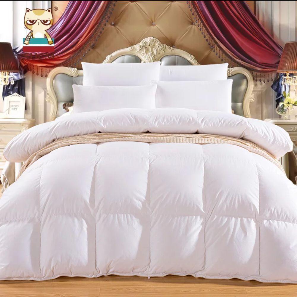 Pure Canadian Goose Down Comforter Quilt Doona Coverlet Duvet