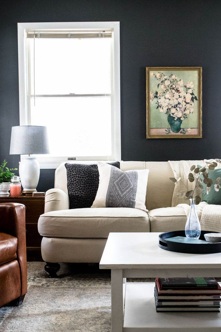 Brave Grey Modern Living Room Ideas With Dark Faux Leather ...