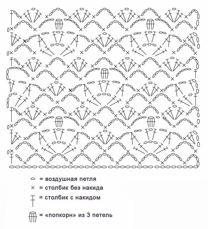 Top Tirantes Patron - Patrones Crochet | CROCHET COM GRAFICOS ...