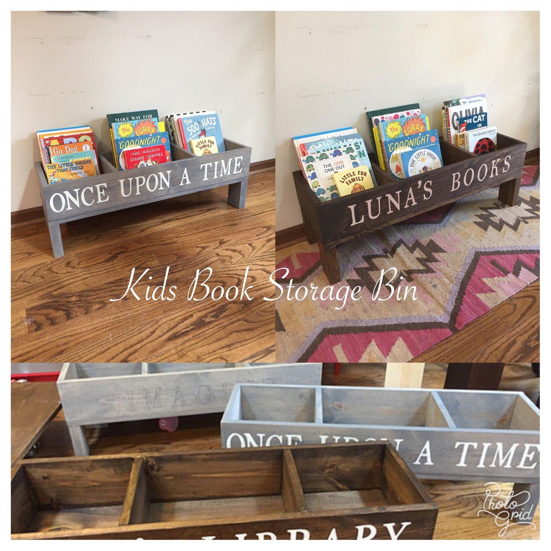 Kids Book Storage Bin Bookshelves Kids Kids Book Storage Book Storage