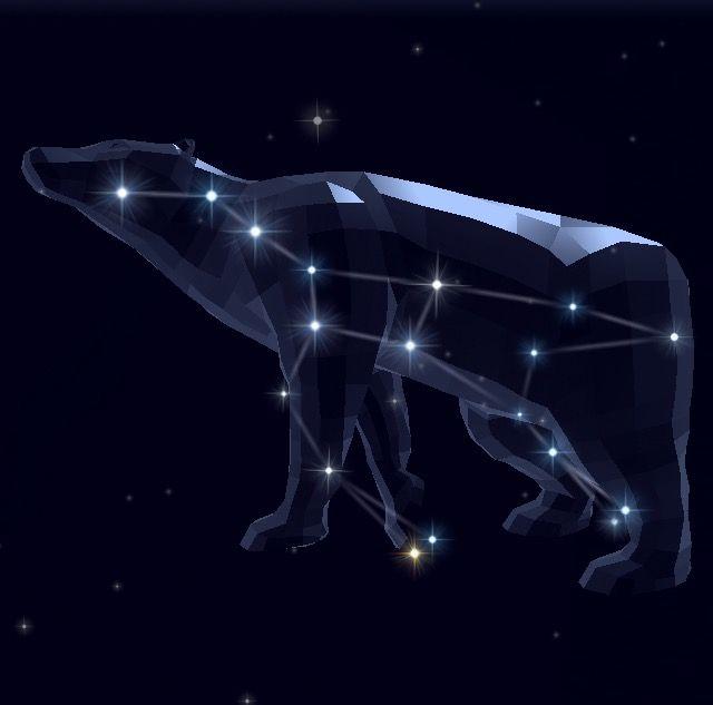 La Constellation De La Grande Ourse Application Star Walk 2 Constellation De La Grande Ourse Constellation Grande Ourse