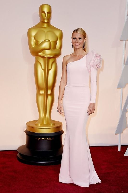 Vestito rosa ralph lauren gwyneth paltrow