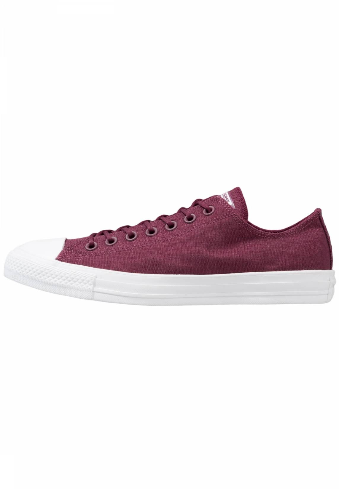ed766283e26b Converse. CHUCK TAYLOR ALL STAR CORDURA - OX - Zapatillas - dark  sangria white