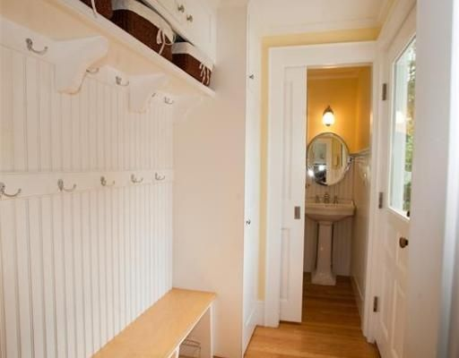 Perfect Mudroom with Half bath to clean those muddy hands!!
