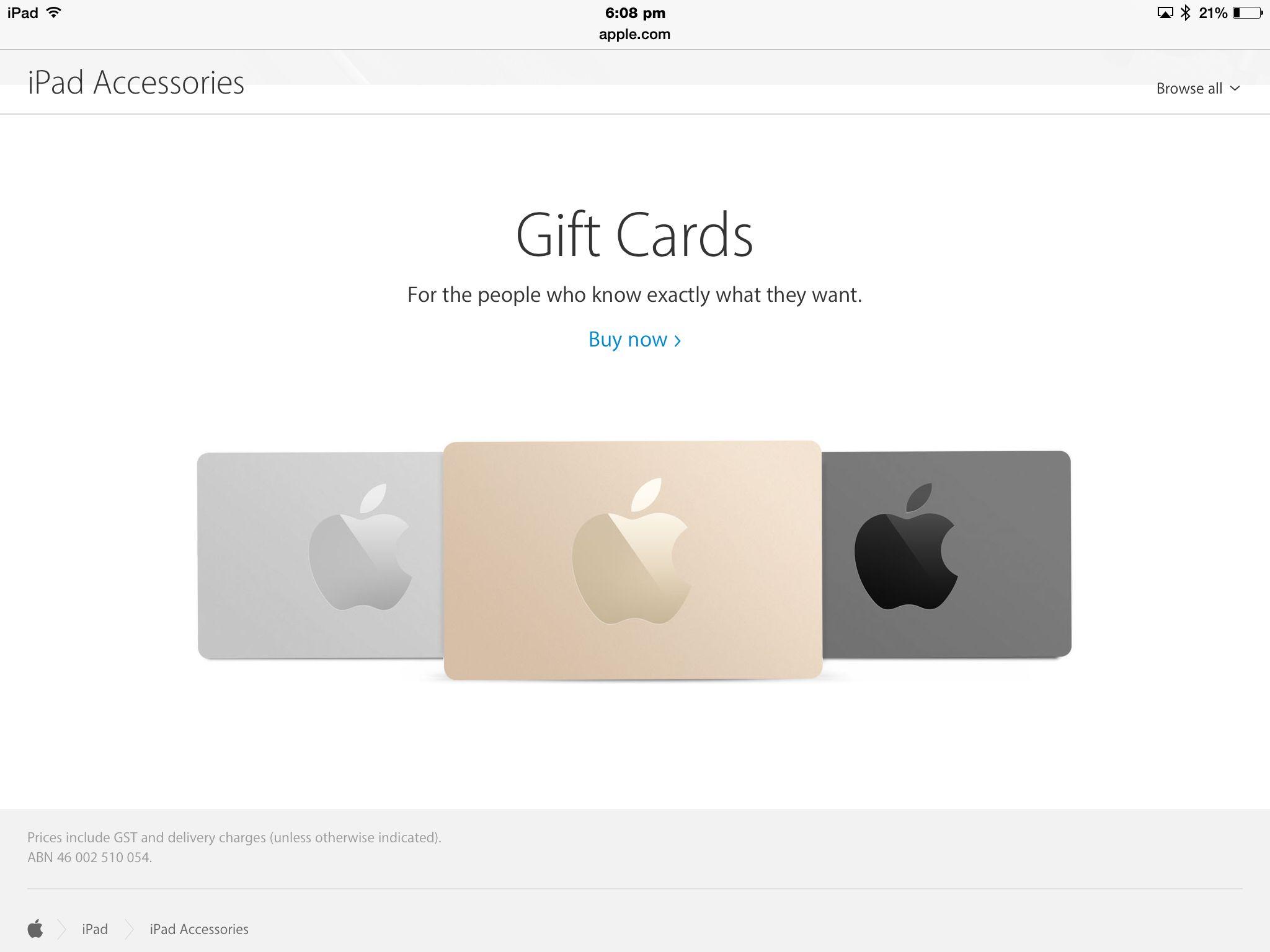 Apple gift card apple gift card apple ipad accessories