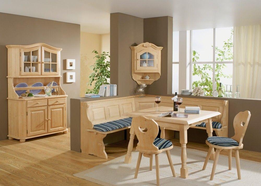 Esszimmermöbel im Landhausstil Landau Holz Fichte Rosner Massiv - wohnzimmerschrank buche massiv