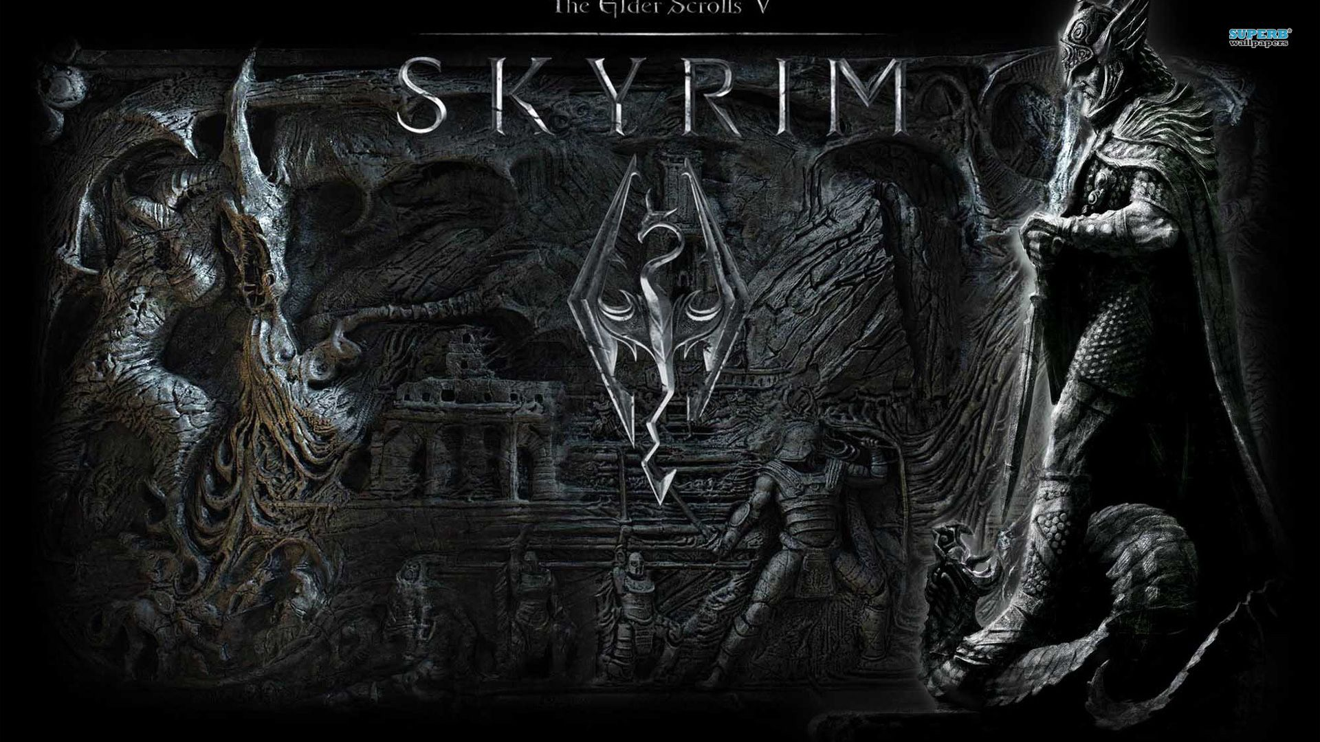 Skyrim Wallpaper 1920x1080 Google Search Gaming
