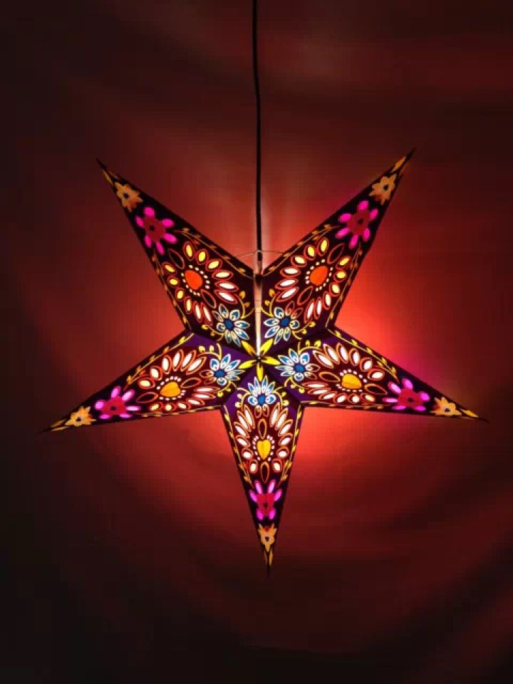 Diwali paper star lightlampshade home comforts pinterest lights diwali paper star lightlampshade aloadofball Images