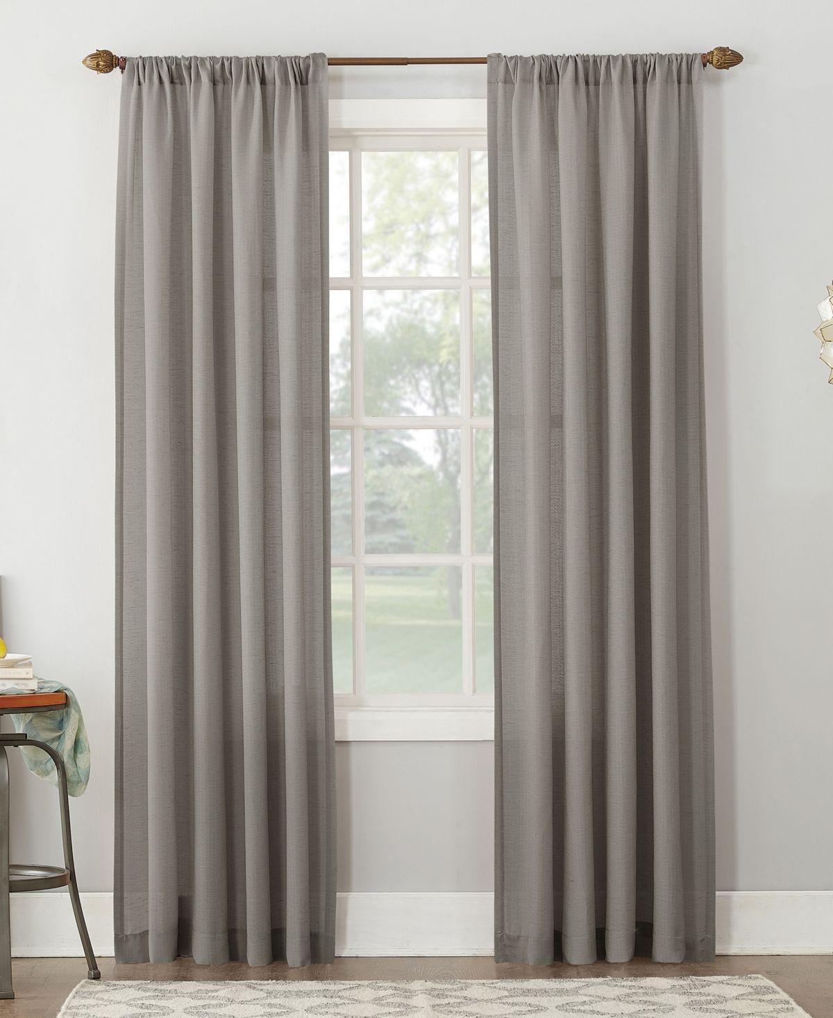 No 918 Lichtenberg Amalfi 54 X 95 Linen Blend Textured Sheer