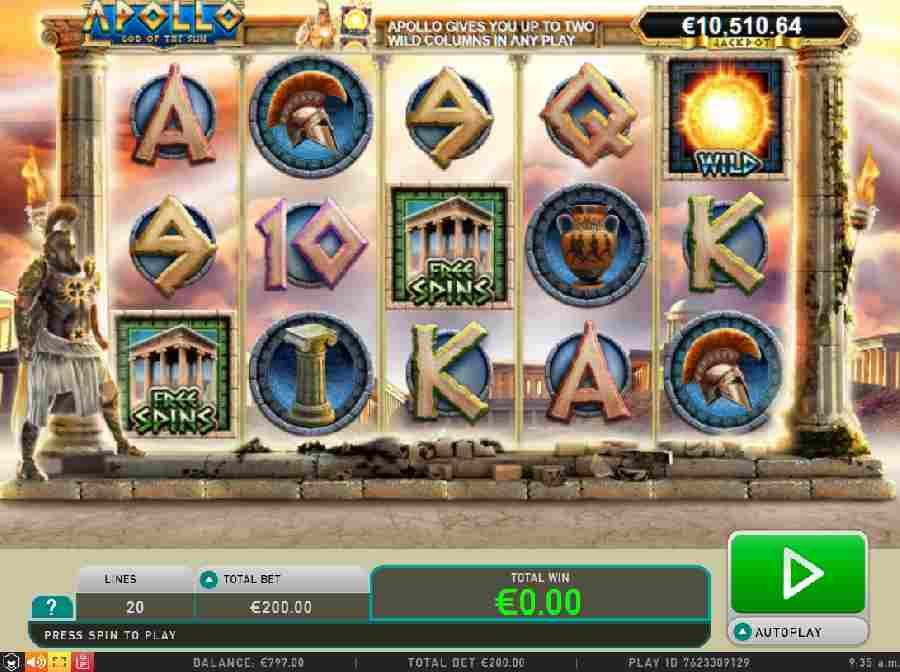 Spiele Apollo God Of The Sun - Video Slots Online