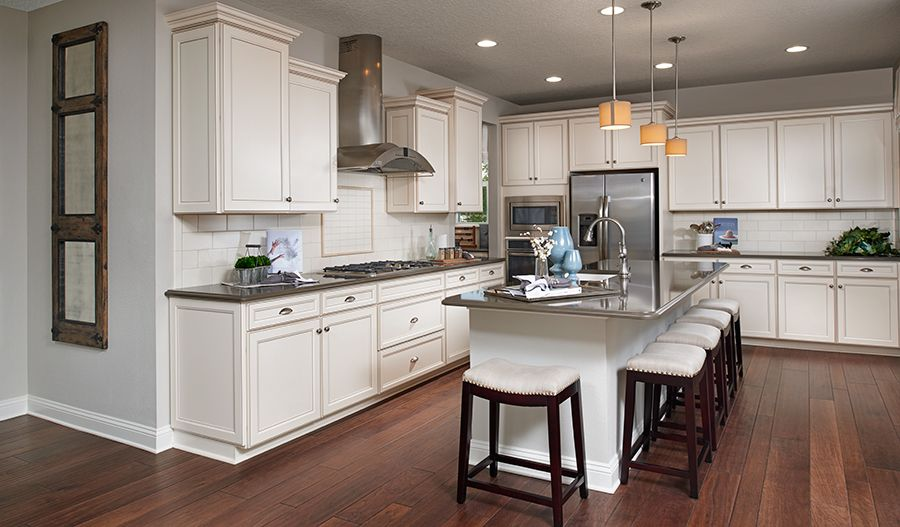 this contemporary kitchen in jacksonville, fl, boasts