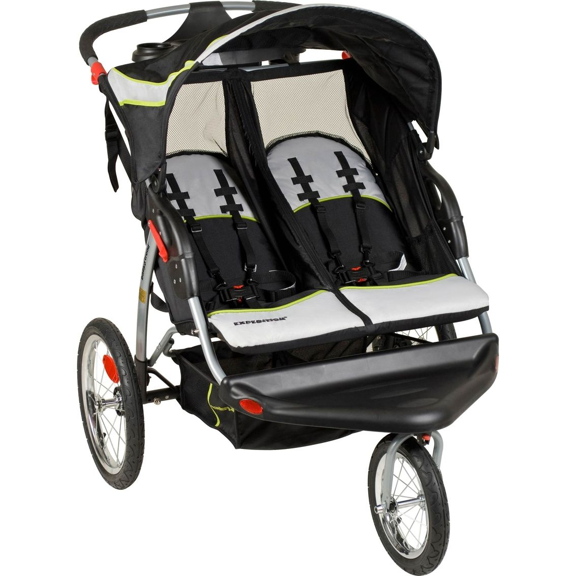 Baby Trend Expedition Green Tea Double Jogging Stroller