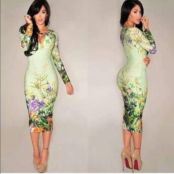 Hot miami styles dress Midi dress Dresses