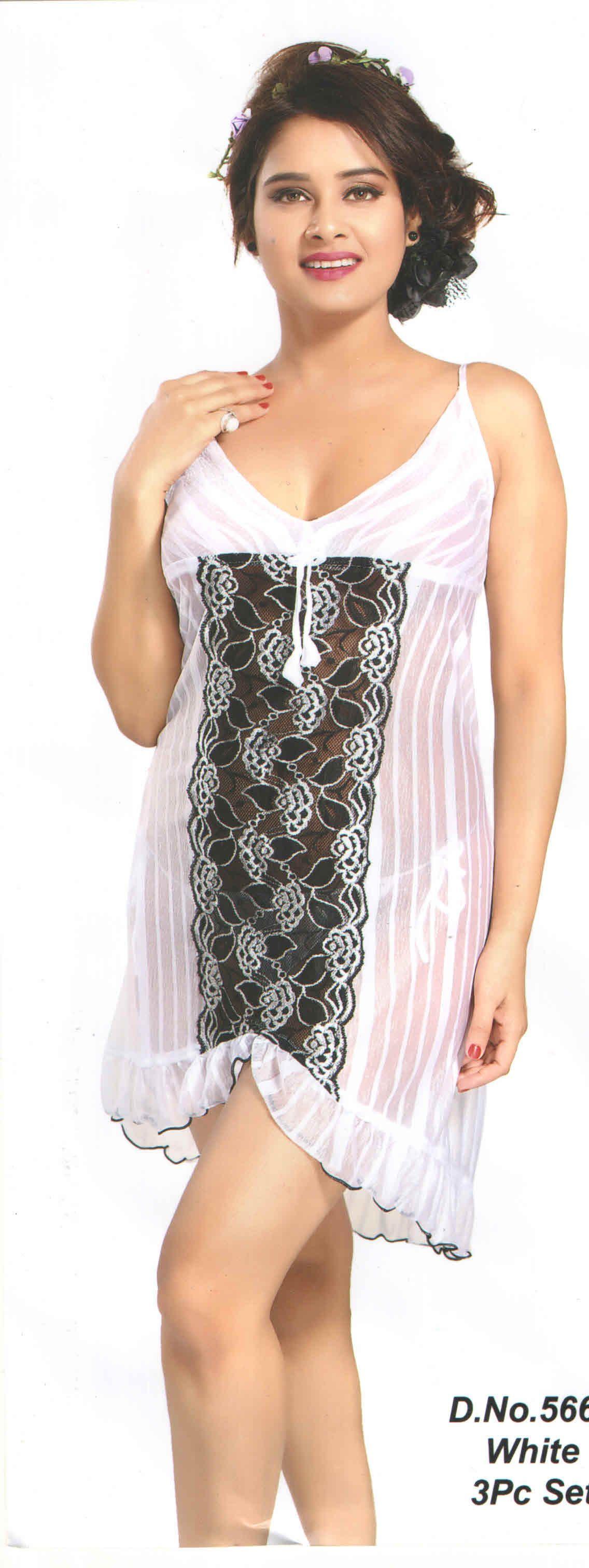 33ee60ec590 Shop 3pc Babydoll Nighty Set By indiatrendzs At Ebay http   stores.ebay