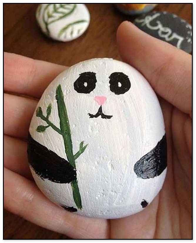 44 Easy Rock Painting Ideas For Inspiration