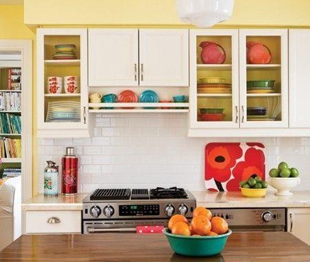 Fiesta Ware Kitchen Love It Kitchen Colors Kitchen Cabinets Makeover Home Kitchens
