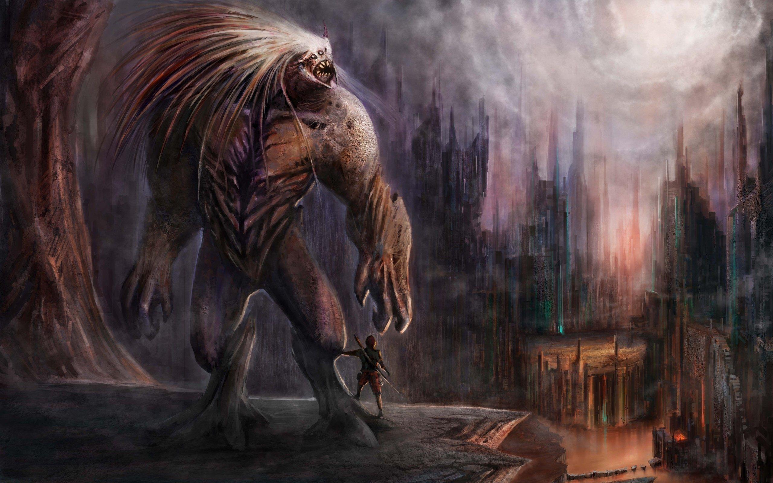 Giant Monster Wallpaper High Resolution Beast Wallpaper Creature Picture Full Hd Wallpaper