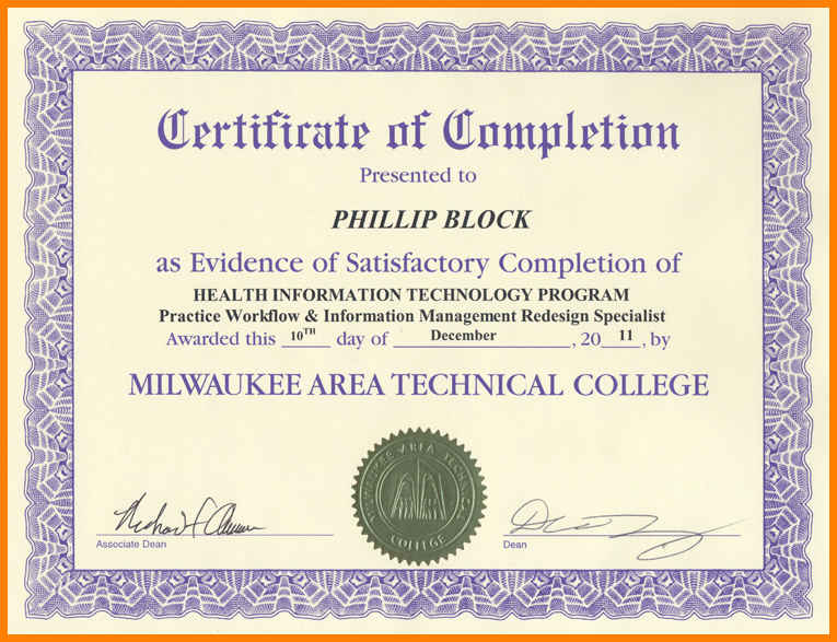 Continuing Education Certificate Template from i.pinimg.com
