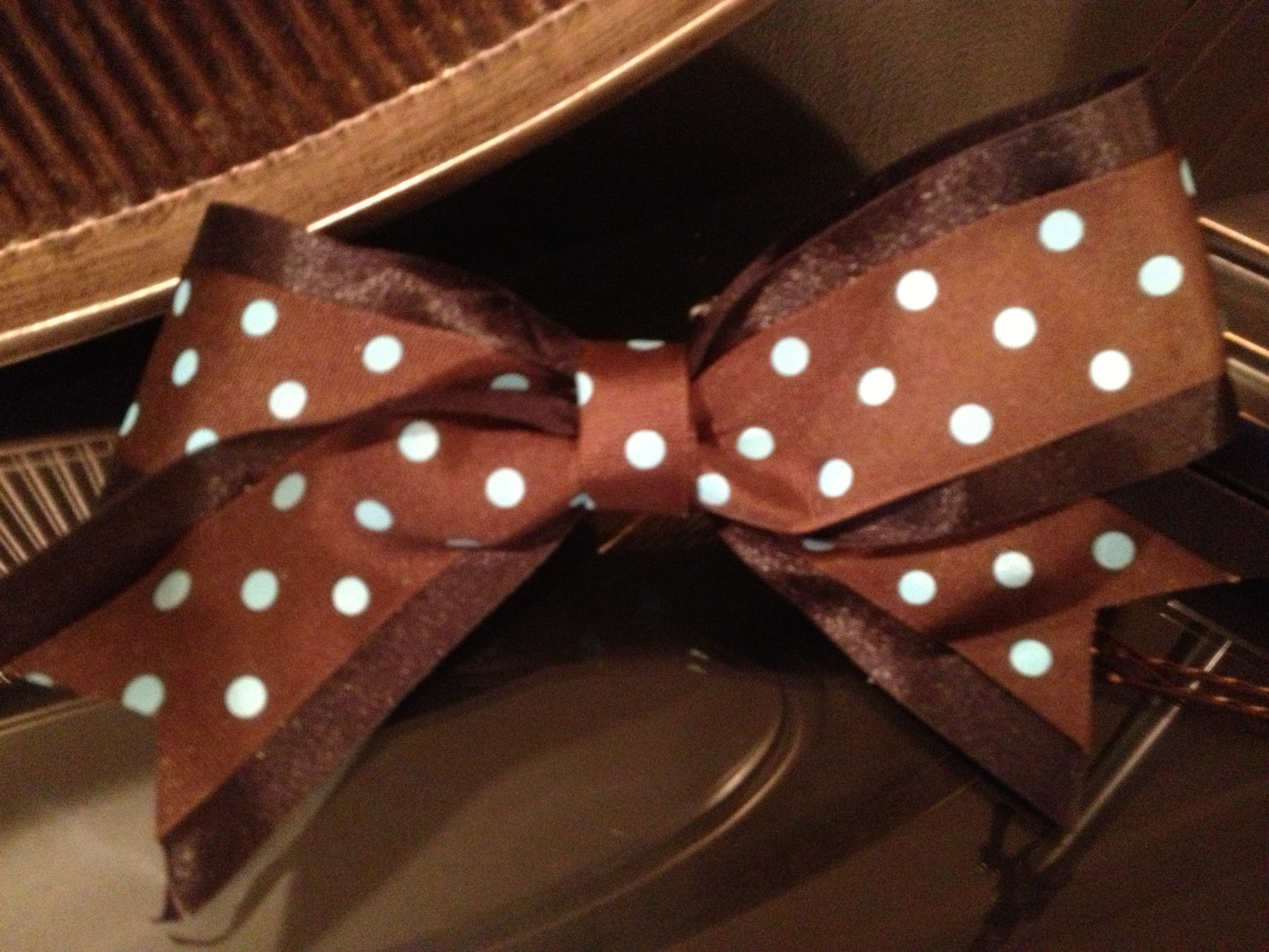 Cheer bow - I made that ;D