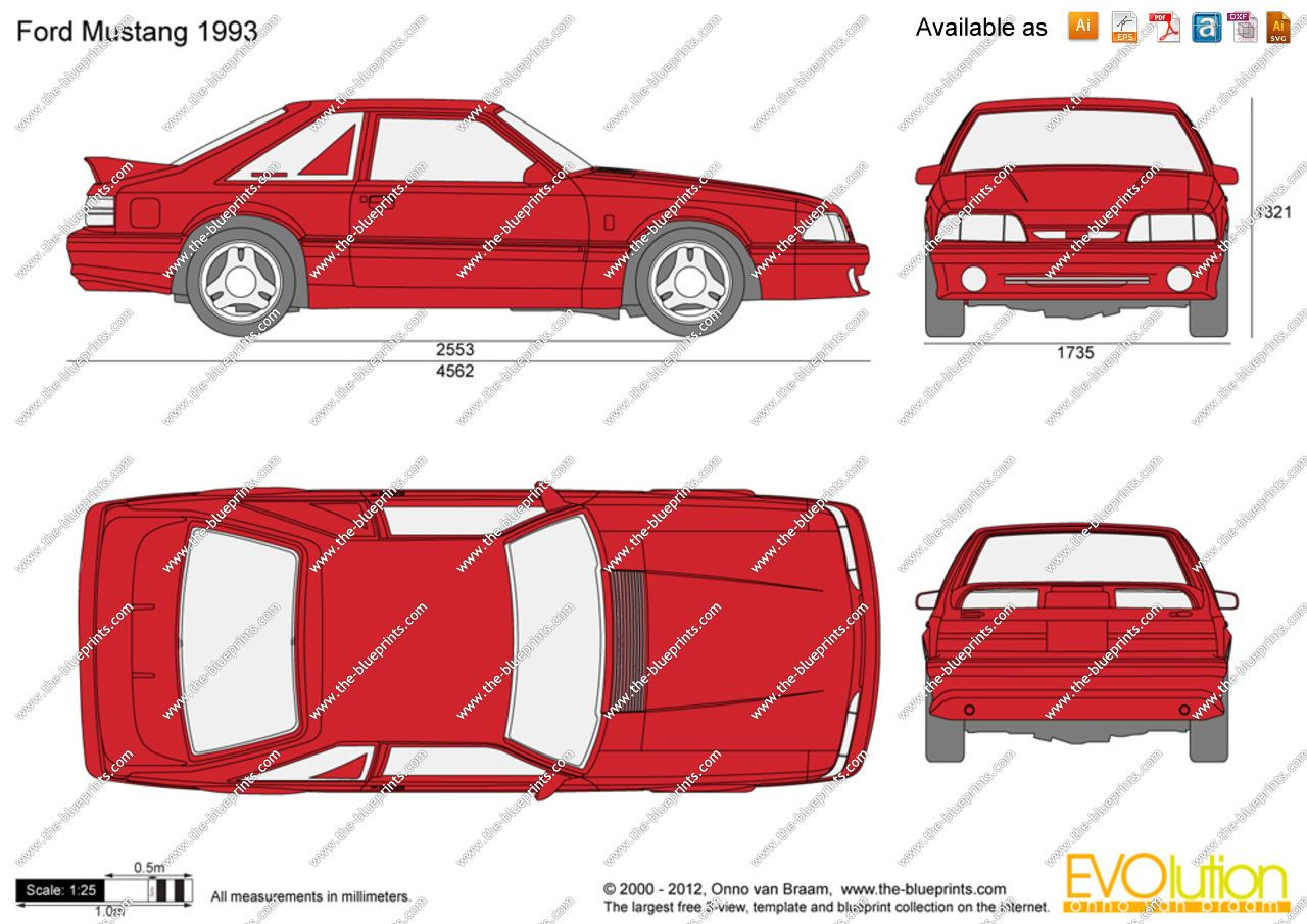 Charming Image Result For Ford Mustang 1993 Blueprint