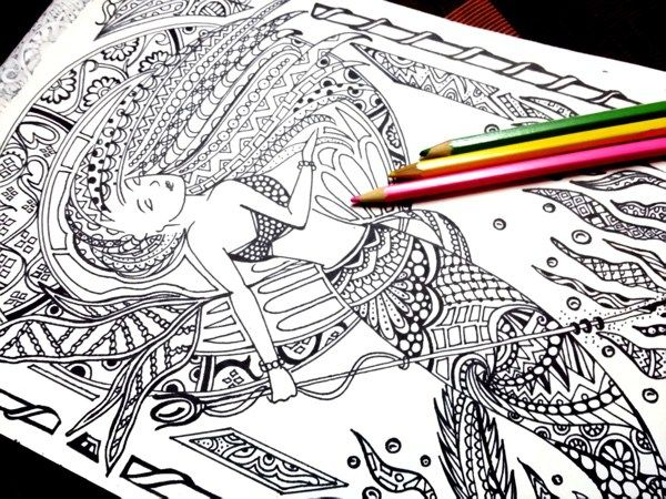 Best Mermaid Coloring Pages \ Coloring Books Coloring books - best of coloring pages with monkeys
