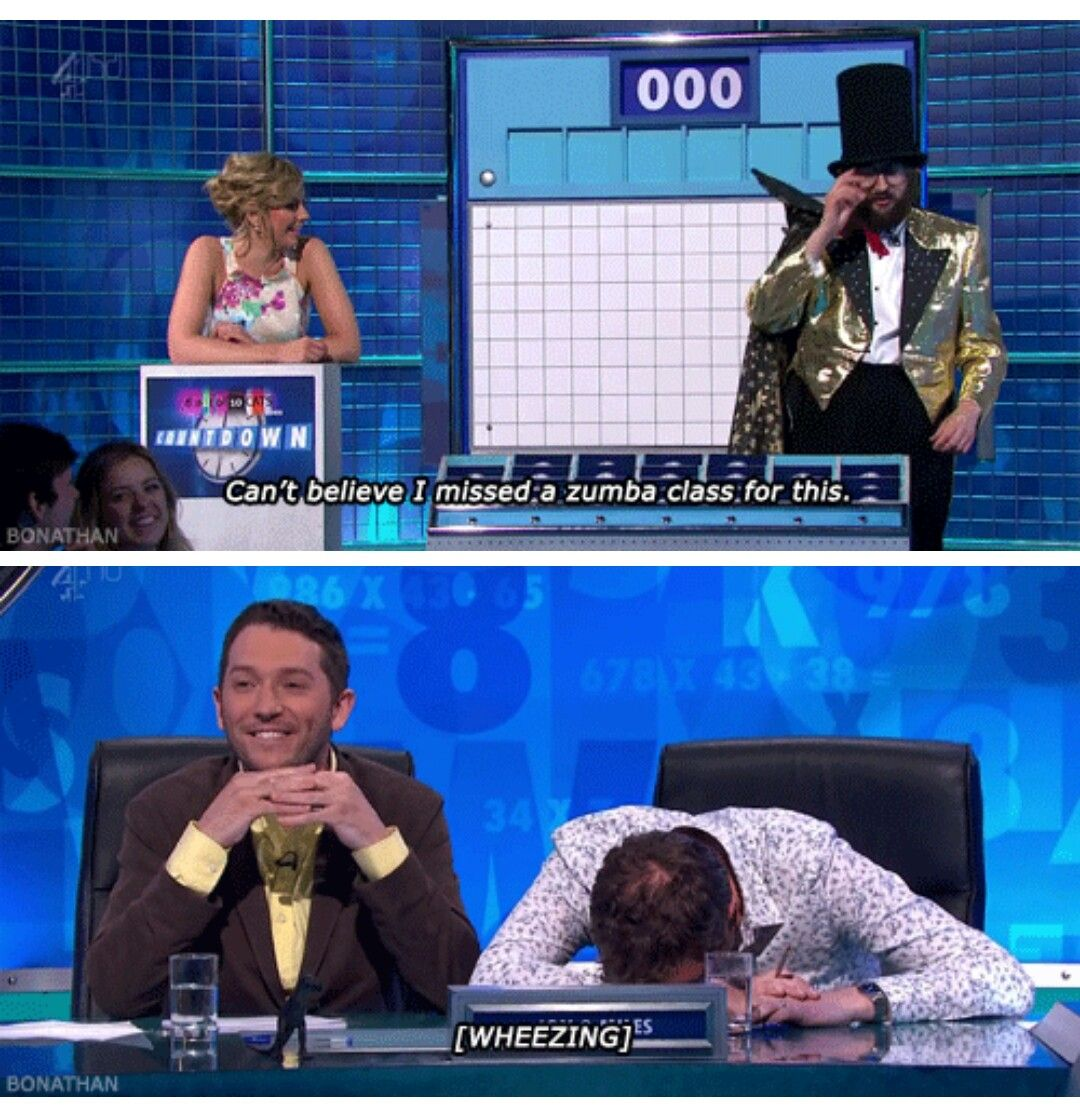 8 out of 10 cats does countdown, Joe Wilkinson