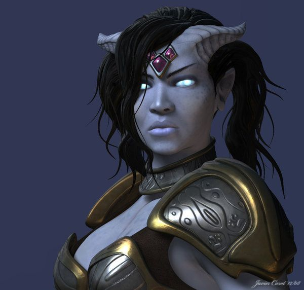 World Of Warcraft Draenei New Model