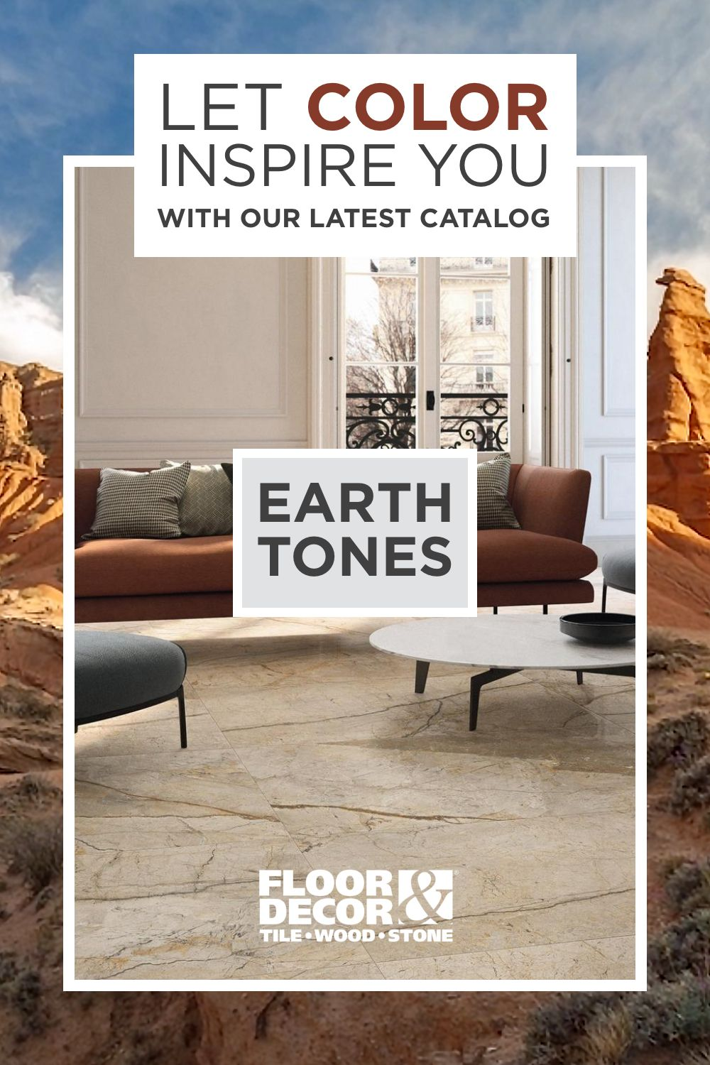 Find your zen within! View the Earth Tones collection in