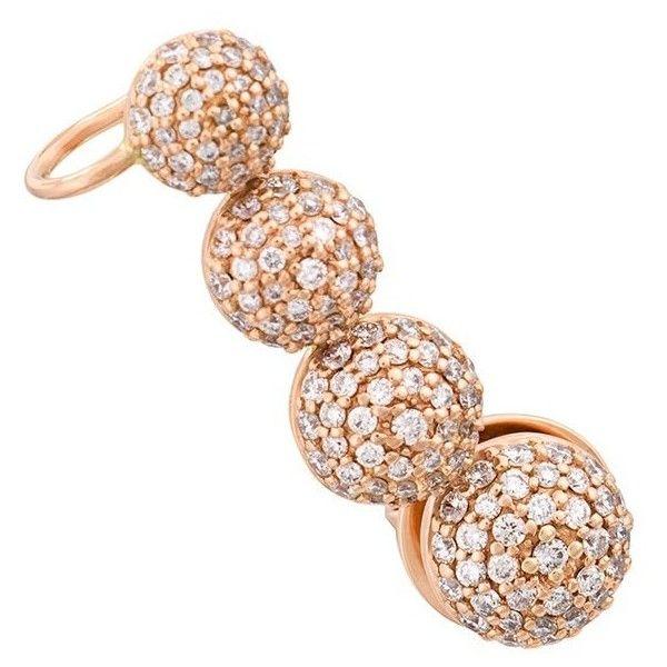 MARINA diamond stud earring - Metallic Alinka Eu2Uc