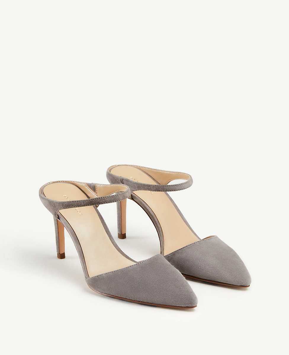 57204ea166 Jodie Suede Mule Pumps | Ann Taylor | For my Feet in 2019 | Shoes ...