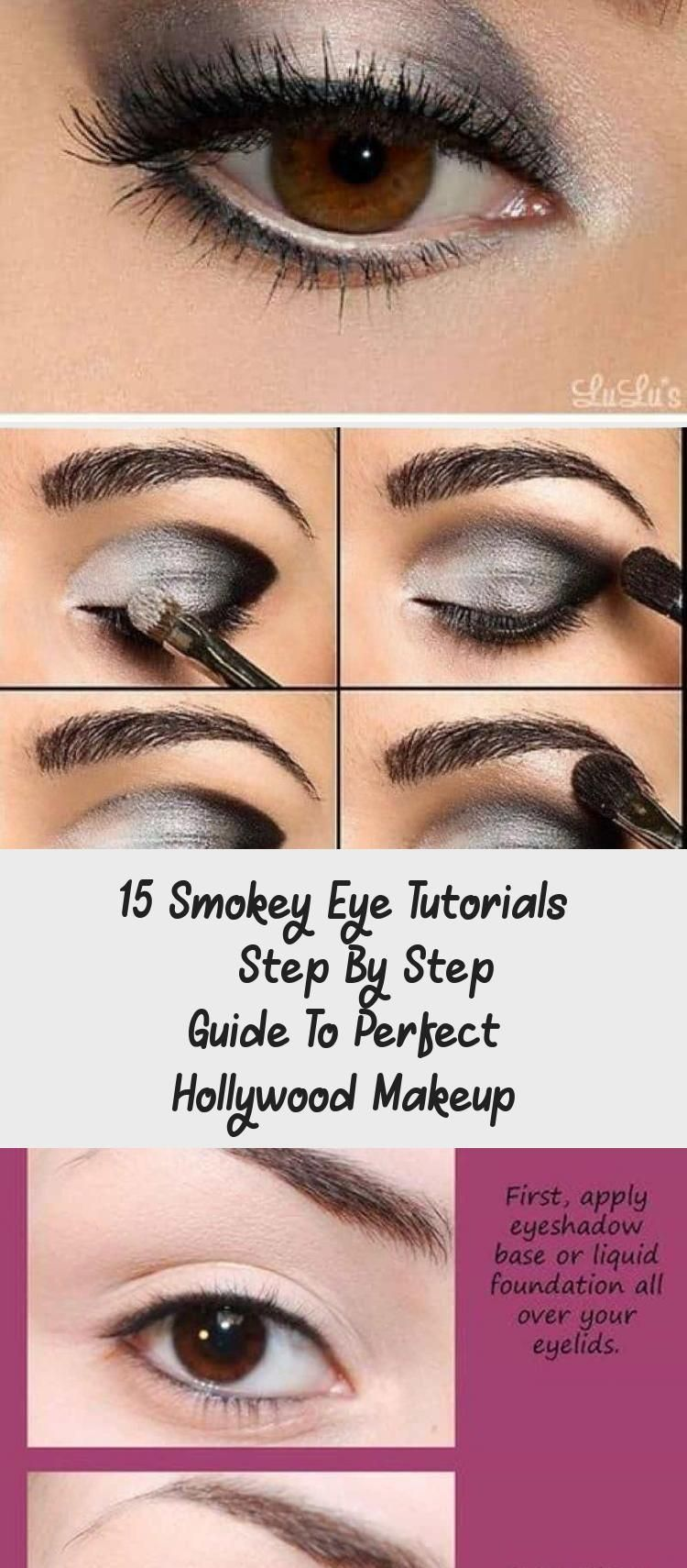 15 Smokey Eye Tutorials Step By Step Guide To Perfect Hollywood