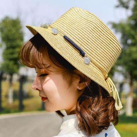 Fringe Coin Straw Sun Hats For Women Summer Straw Hats Sun Protection Hat Summer Straw Hat Straw Sun Hat