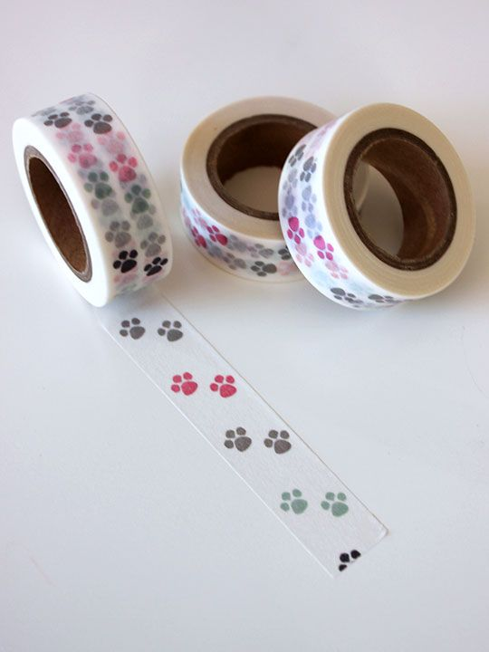 "Washi Tape ""Huellas"""