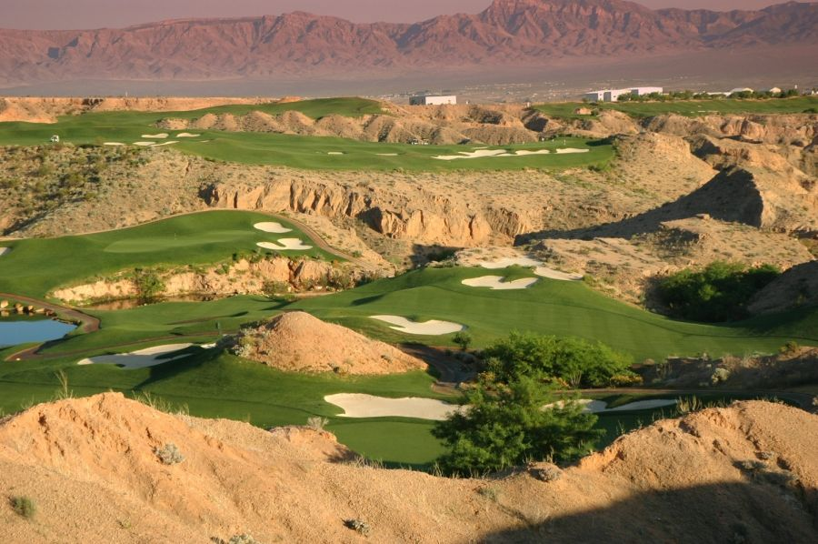 Mesquite Courses Wolf Creek Golf Resort Played Here What An