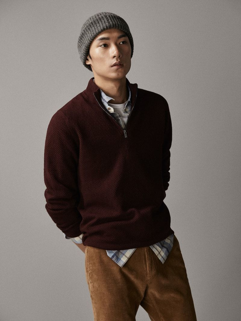 View All Jumpers Collection Men Massimo Dutti Espana Islas Canarias Sweater Collection Sweaters Massimo Dutti Online