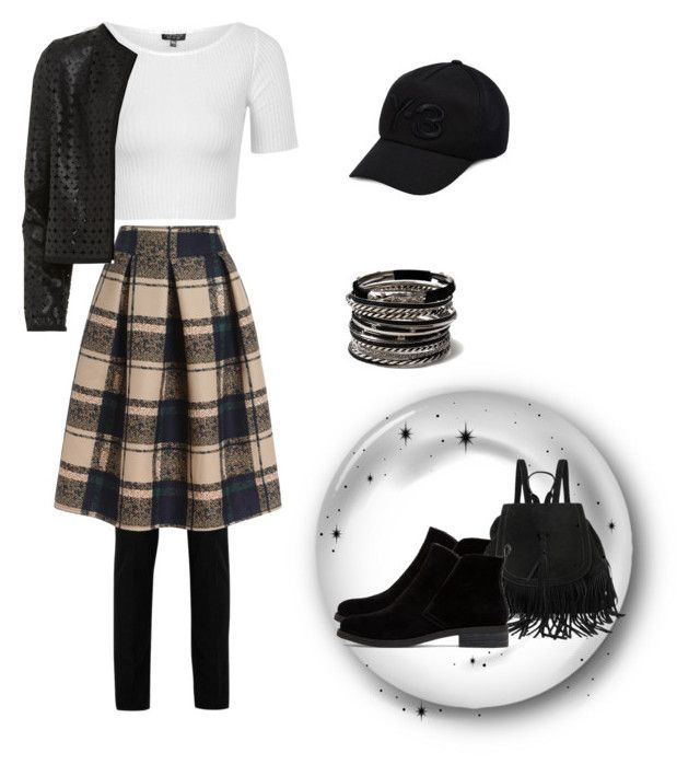 """Bez naslova #16"" by korchie ❤ liked on Polyvore featuring Yves Saint Laurent, Topshop, Maglie I Blues, Y-3, Lucky Brand, Amrita Singh, women's clothing, women, female and woman"