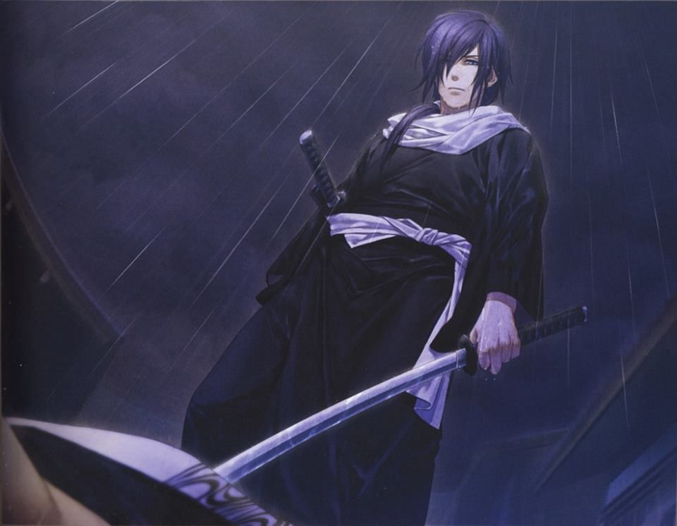 Standing In The Rain As I Look Over A Fallen Enemy The Man Was An Assassin Out To Kill The Captain Of My Squad And Ha Anime Standing In The Rain