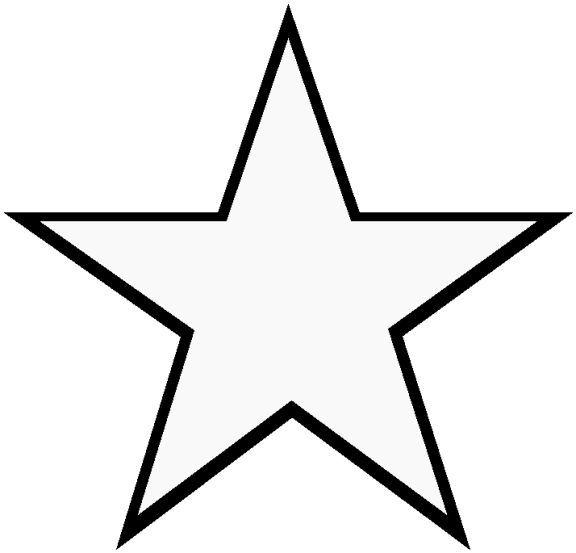 Stern Vorlage 2 Sterne Zum Ausdrucken Vorlage Stern Stern Schablone