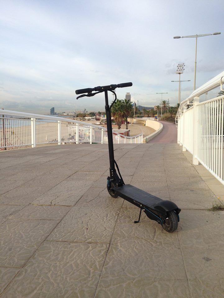 Our escooter loves Barcelona ! #Barcelona #escooter #urban