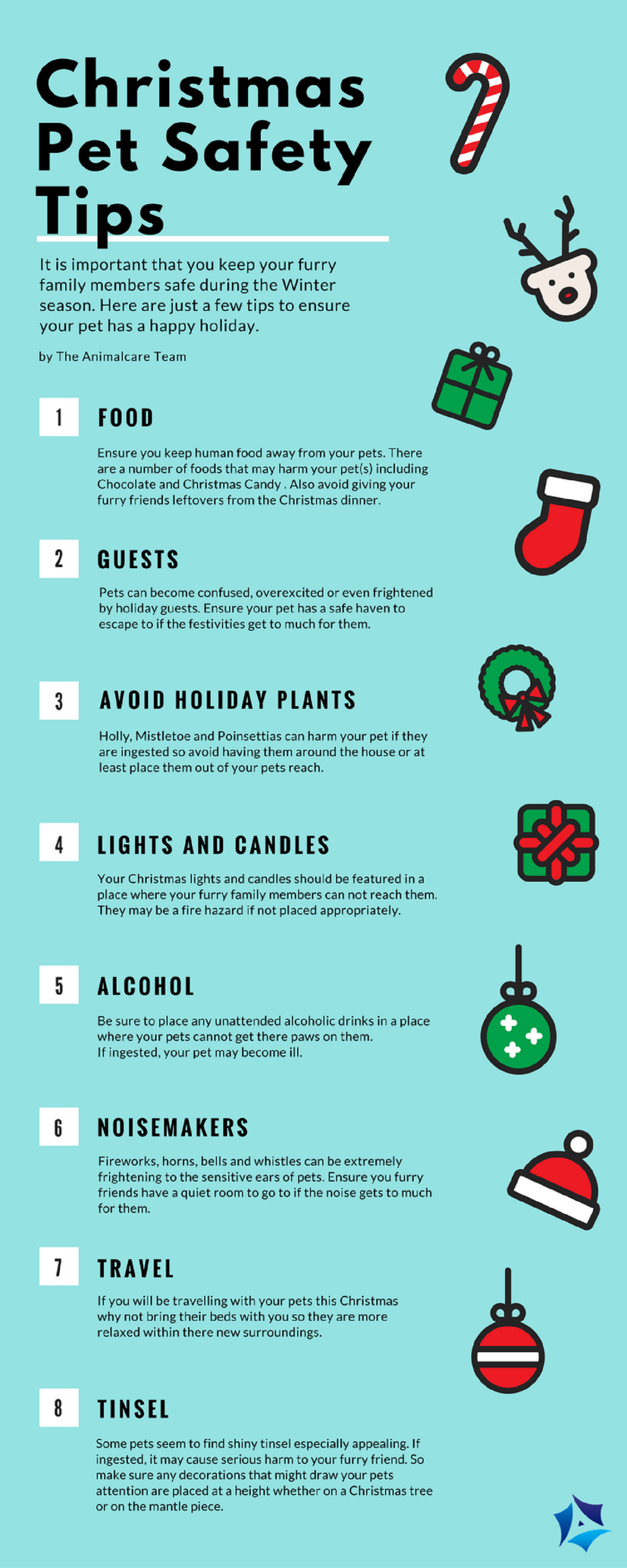 Christmas Pet Safety Tips Pet Safety Pet Holiday Christmas Animals