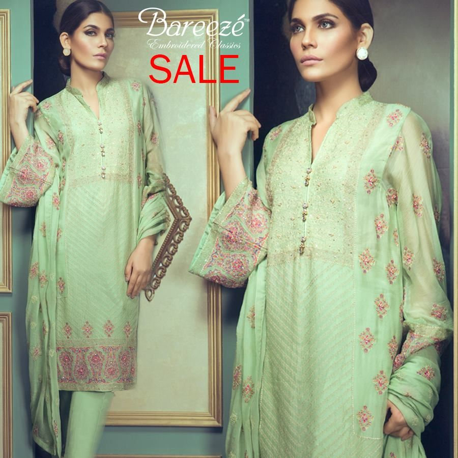 Bareeze live dresses gallery bareeze fashion brand photos designs - Bareeze New Embroidered Classics Eid Collection 2017 Beststylo Com