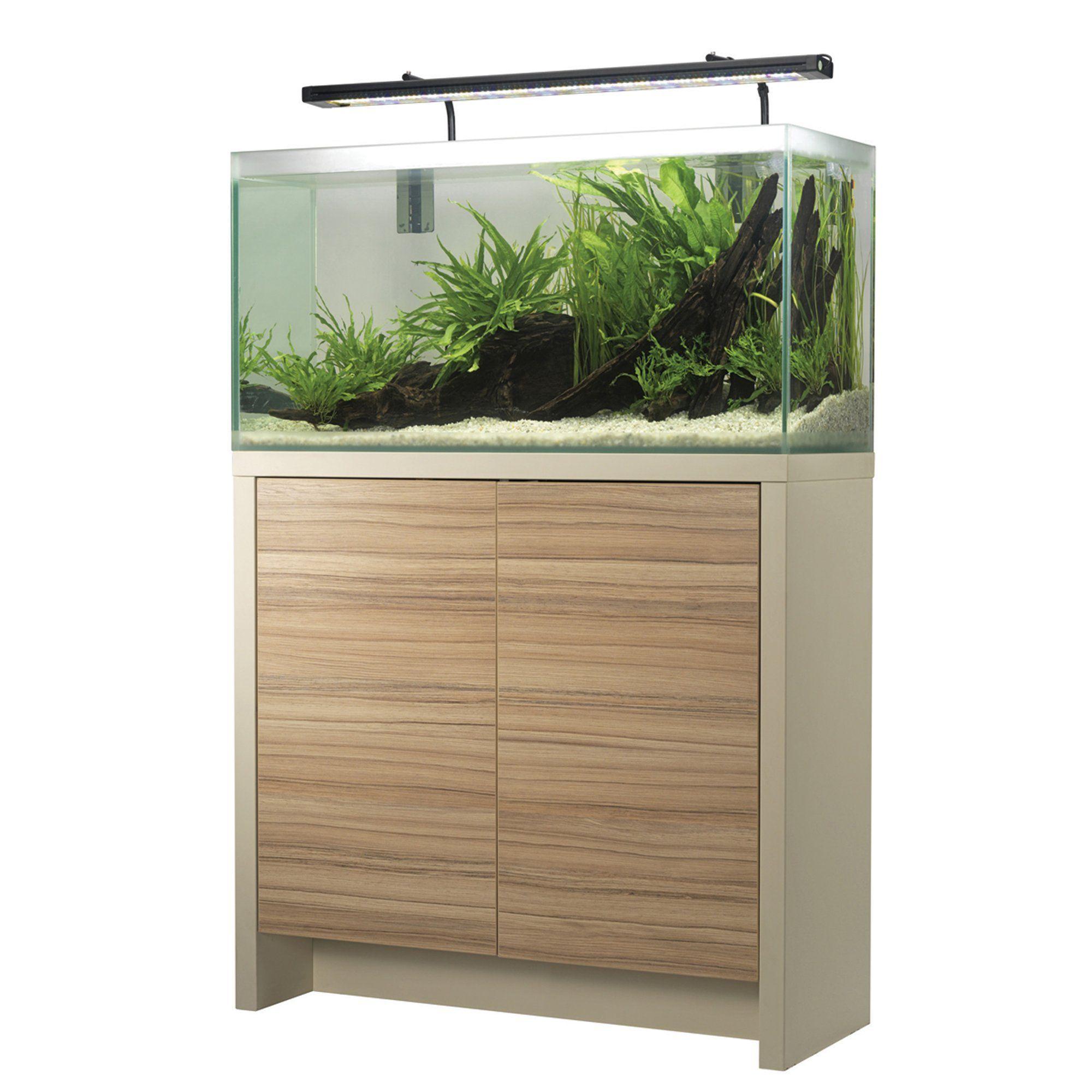 Fluval 34 Gallon Freshwater F90 Aquarium Set Aquarium Cabinet Aquarium Aquarium Set