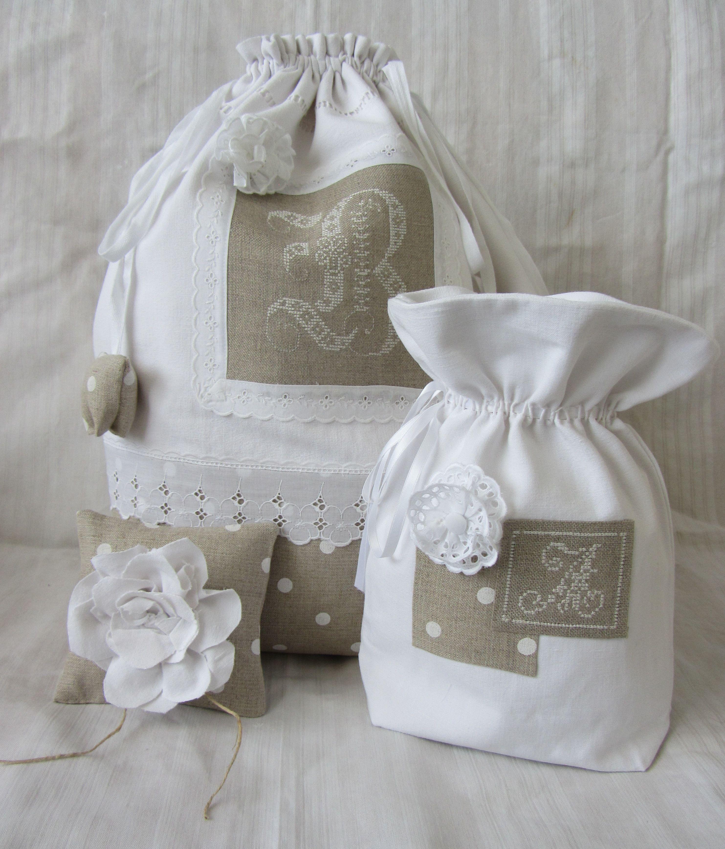sac linge et pochon bags sac cordon couture sac y. Black Bedroom Furniture Sets. Home Design Ideas