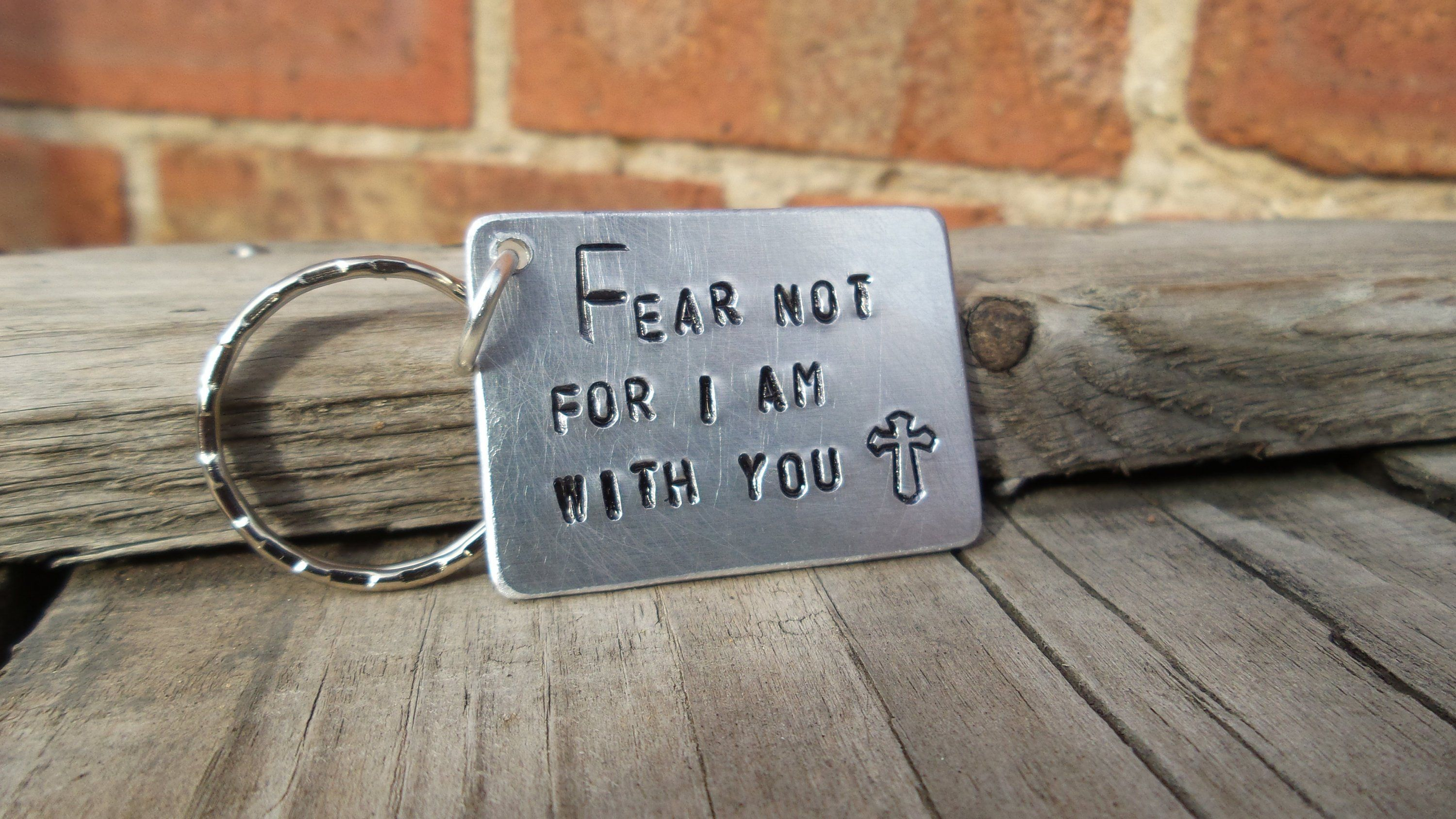 Fear not for i am with you baptism gifts for him her