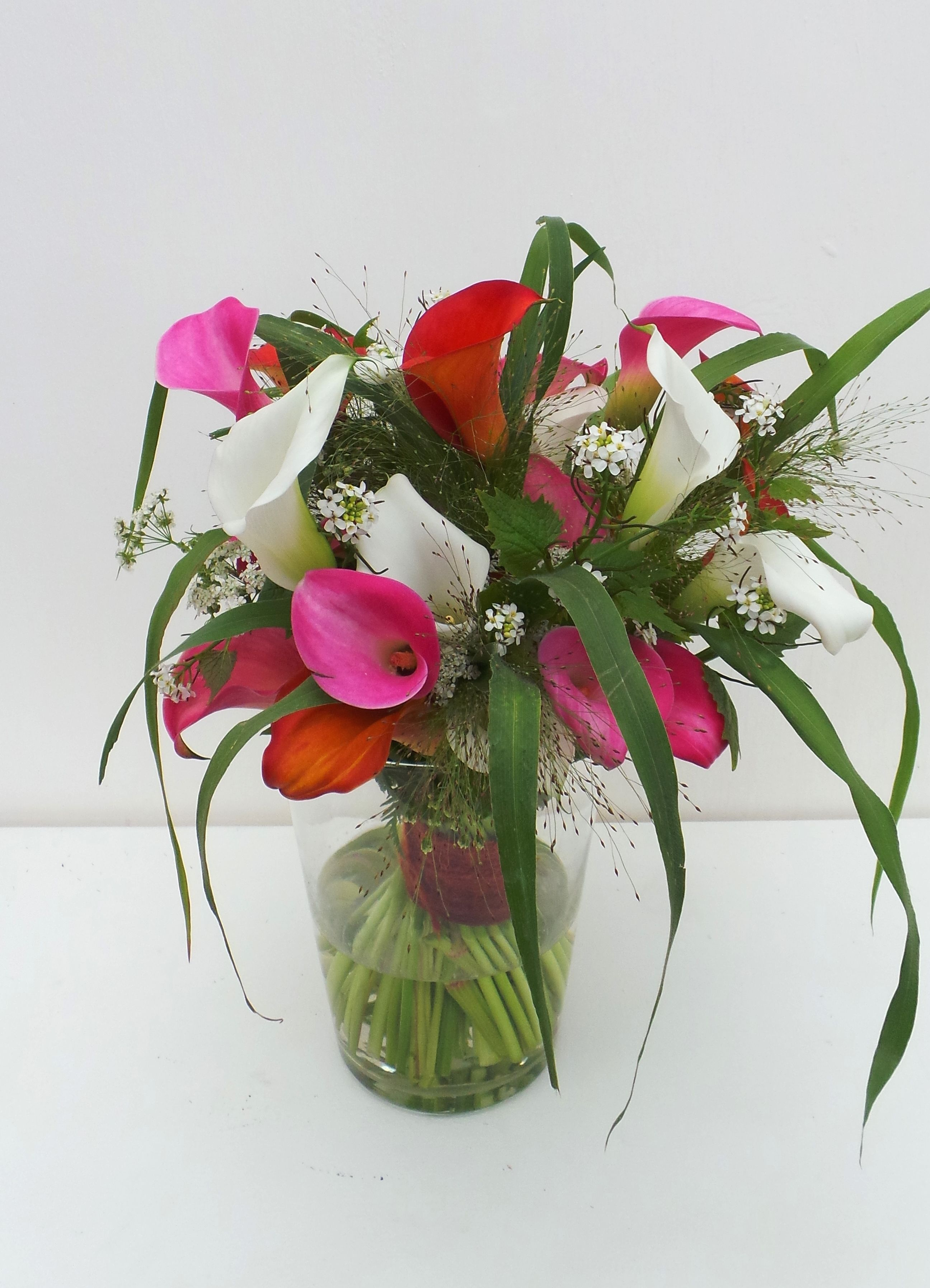 Apart gemengd boeketje. Mixed flower bouquet. Made by Greenhouse ...