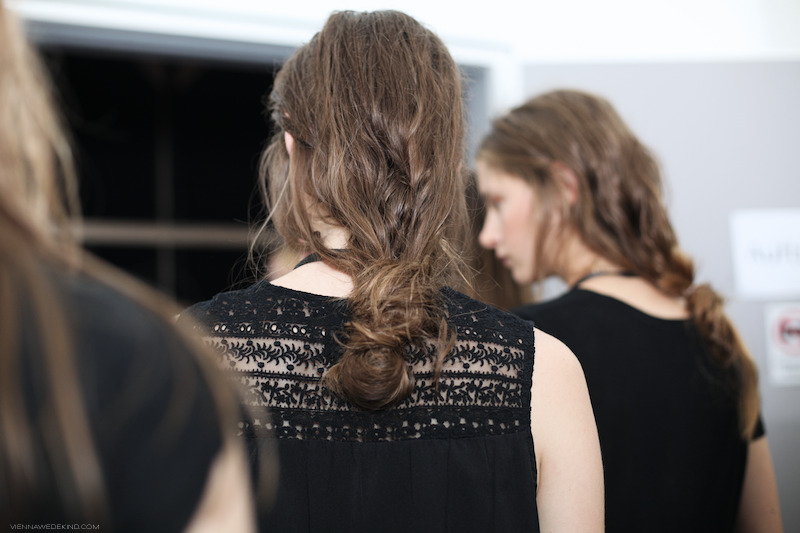 Messy Summer Hair // LALA BERLIN SS15 © VIENNA WEDEKIND