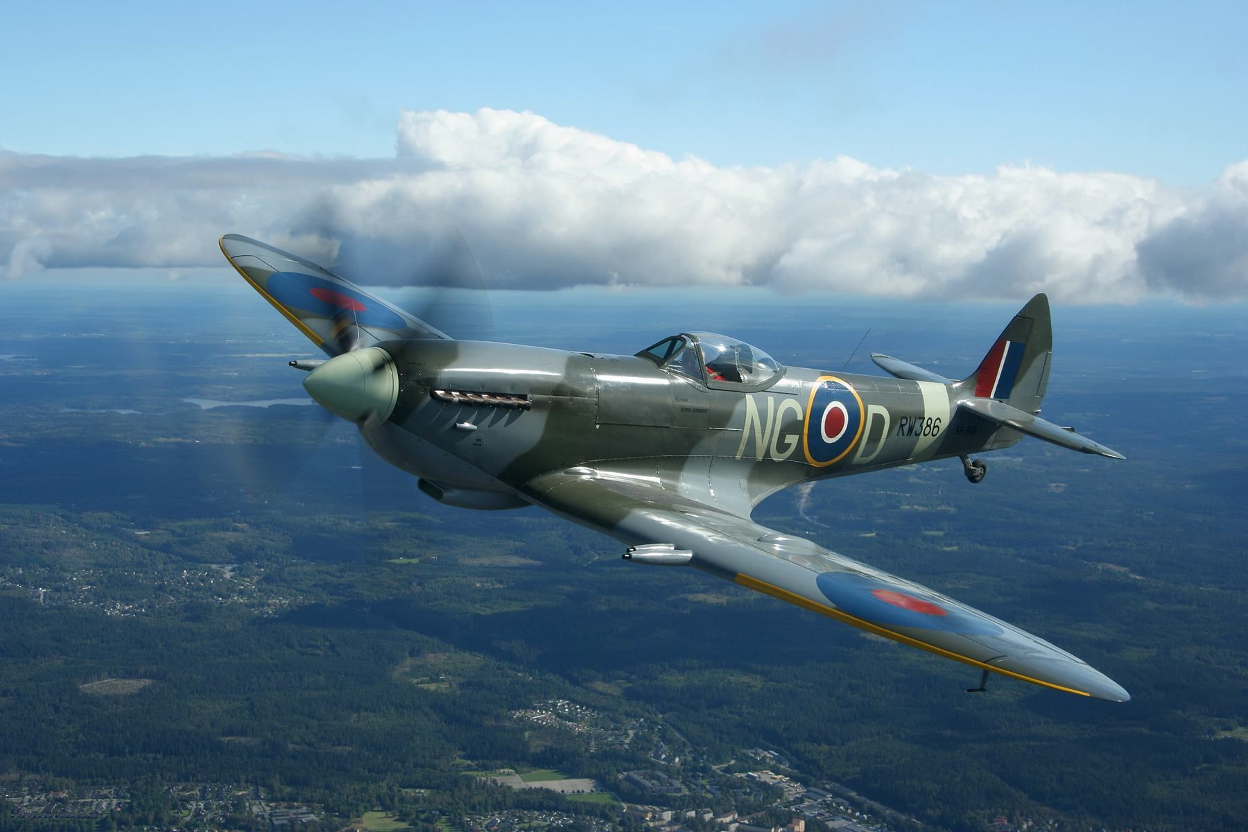 The Supermarine Spitfire Mk. 9