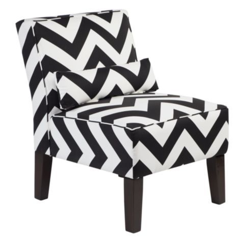 Bailey Accent Chair Chevron From Z Gallerie With Images